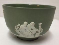 Wedgwood Jasperware green bowl