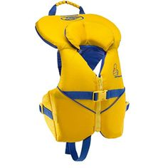 Stohlquist Unisex Infant/Toddler Nemo Infant Life Jacket/Personal Floatation Device (Yellow/Blue, Less Than Baby Registry Items, Thing 1, Baby Play, Toddler Preschool, Baby Car Seats, Children, Kids, Unisex, Infant Toddler