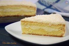 Torta al cocco, dolci e dessert Quest'oggi vi vado a presentare la regina delle torte esotiche, la torta al cocco buona dal primo all'ultimo morso