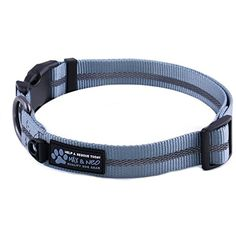 Max and Neo™ EARTH Nylon Buckle Reflective Dog Collar - We Donate a Collar to a Dog Rescue for Every Collar Sold (LARGE, OCEAN BLUE) @ You can check out the image by visiting the link. (This is an affiliate link and I receive a commission for the sales)