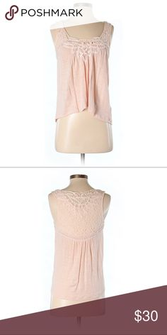 🌿Anthropologie🌿 Meadow Rue Top Excellent condition light pink top. Size small. Anthropologie Tops Blouses