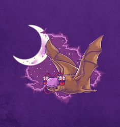 Vampire bat by ben6835 | Found on Daily Inspiration's Wall of Fame