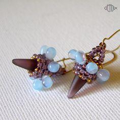 Spike earrings  By Iva Jar. (Bijioux)
