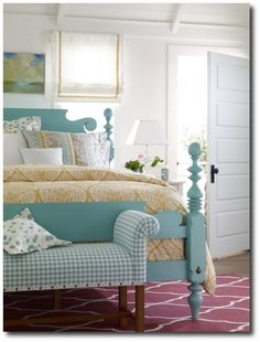 Ethan Allen Painted Bed Painted Furniture, Painted Cabinets, Vintage Furniture Makeovers,