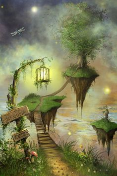 Magical dream fantasy, fantasy world, dream art, fantasy fairies, beautiful fantasy art Dream Fantasy, Fantasy World, Fantasy Fairies, Fantasy Trees, Fantasy Forest, Magic Forest, Forest Art, Fantasy Places, Fantasy Landscape
