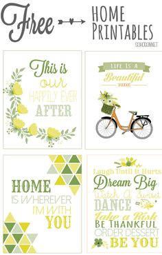 Inspiring Free Printable until May 1st- SohoSonnet Creative Living