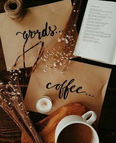 Imagen de autumn, book, and coffee