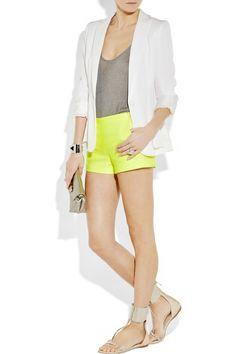 yellow + white + grey