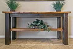 Accent Table - Zebra-Wood - 1