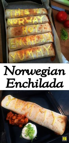 This is how I make enchilada in Norway. It's a quick and tasty meal I recommend you try!