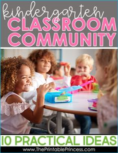 Building a classroom community in kindergarten is one of the most important jobs as a teacher! Research has shown that students need to feel a sense of trust and connection in order to succeed in the classroom. I have some great ideas for building your classroom environment and community and helping your students on the road to success!