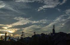 Sunset on the Beast's castle