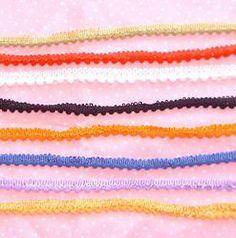 May Arts Mini Pompom Trim - 8 Colour Options #craft