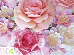 Fiori di carta New Style - New Style paper flowers - YouTube