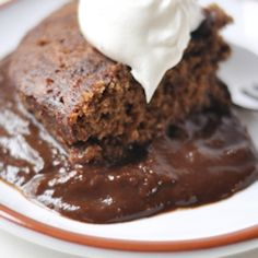 Crock Pot Chocolate Pudding Cake-Looks SO good and SOOOO easy!                                  1 package chocolate cake mix  1 pint sour cream  1 package instant chocolate pudding  1 small bag chocolate chip (approx. 6 ounces)  3/4 cup oil  4 eggs  1 cup water    Directions:    1. Spray crock pot with non-stick spray. Mix all ingredients. Pour into Crock pot.    2. Cook on low for 6-8 hours. Serve in a bowl with ice cream.