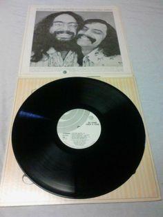 Cheech and Chong Big Bambu LP Record Vinyl USA-No Papers