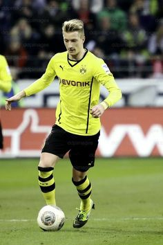 "Marco Reus ""A speedy, versatile attacker perfect for Jurgen Klopp's fast, counterattacking system."""