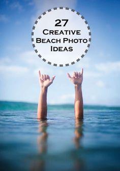 Fun & Creative Ideas for Beach Pictures