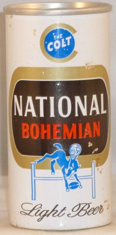 National Bohemian Light Beer ft Can USBC 242 3 The Colt
