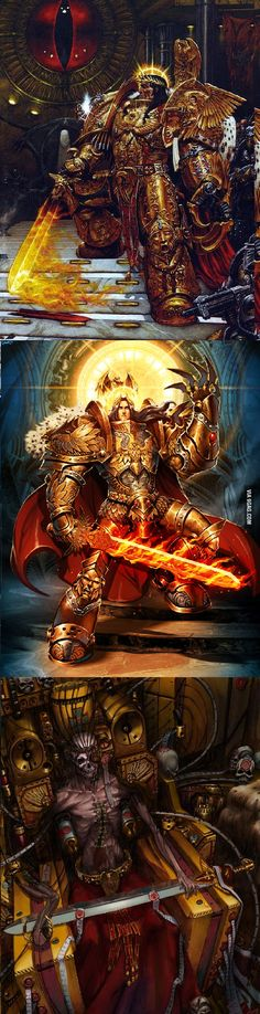 The God-Emperor of Mankind, also known as Big E, big Daddy... and corpse emperor (part 1)