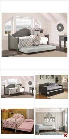 Shop Target for daybeds you will love at great low prices. Free shipping on orders of $35+ or free same-day pick-up in store. New Homes, Bedroom Makeover, Small Spaces, Small Space Interior Design, Home, Tiny House Plans, Bedroom Design, Home Decor, Living Room Designs