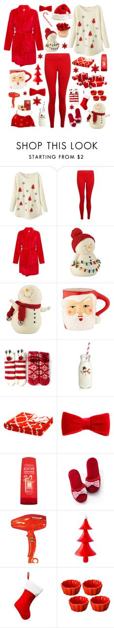 """""""Martinne"""" by nicole-288 ❤ liked on Polyvore featuring Hey Jo, Department 56, Crate and Barrel, in2green, claire's, L'Oréal Paris, Victoria's Secret and BaByliss"""