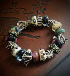 One of Beckie Hoof-Beads's ready to wears and it's easy to see why  Loving the 'dillo at 6 o clock!