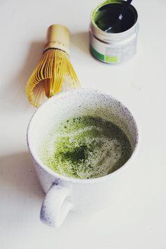 matcha green tea coconut latte