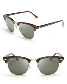 classic clubmaster sunglasses / ray-ban