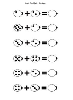 lady bug math, lots of other activities too
