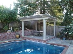 Freestanding Patio Cover  Free Standing Patio Cover