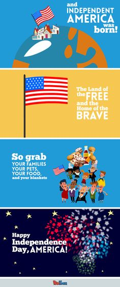 43 best animated greeting cards evites ecards images on pinterest wish america a happy birthday and add to the fourth of july festive spirit with this m4hsunfo