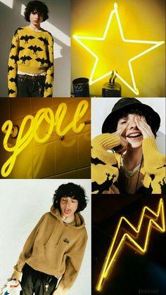 Lockscreen by @elxloser Finn Stranger Things, Dream Boy, Memes, I Love Him, Will Byers, Yellow, Tumblr, Netflix, Backgrounds