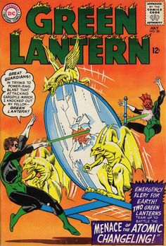 """50 Years Ago This Month: Two Green Lanterns team up to battle """"The Menace of the Atomic Changeling"""" ... - http://www.afnews.info/wordpress/2015/08/01/50-years-ago-this-month-two-green-lanterns-team-up-to-battle-the-menace-of-the-atomic-changeling/"""