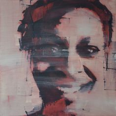 """mark horst """"what the mothers know: sandra brand"""" 30″ x 30″ oil on canvas."""
