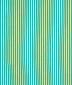 Michael Miller Clown Stripe Lagoon Fabric $8.90 per yard (1 to 7 yards)