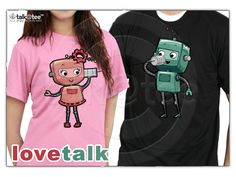 Couple Shirt: Love Talk