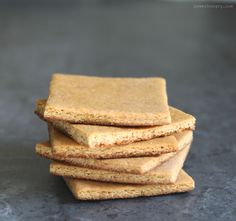 I thought I might talk about graham crackers today. Perhaps you love them as much as I do?When I was little, my mother rarely bought sweets. A die-hard Co-op shopper, she encouraged whole grain toast smeared with peanut butter, fresh or dried fruit, or a handful of her homemade granola ...
