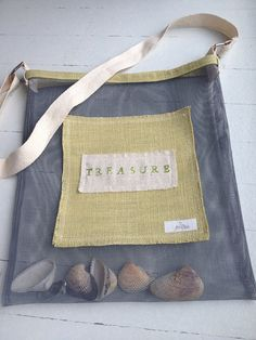 Kid's Beach Bag Beach Combing Bag Cross Body Bag by fernandfawn, $23.00