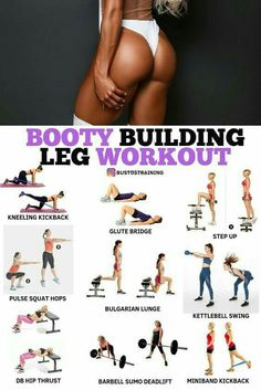 Home Fitness Bodybuilding - Booty Building Leg Workout! - Home Fitness Bodybuilding – Booty Building Leg Workout! Fitness Workouts, Leg Workouts For Men, Fitness Motivation, Fitness Workout For Women, Body Fitness, Fun Workouts, Glute Workouts, Glute Activation Exercises, Physical Fitness
