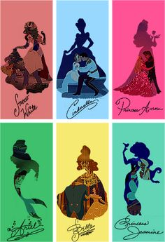 Disney princesses. (the fact that those are their Disneyland signatures makes me happy.)