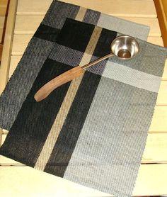 Hand woven Linen Shoreline sauna / bath towel / by WovenProducts, $48.00
