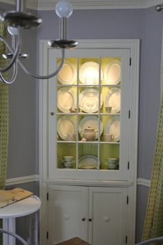 Built-in corner china cabinet. | For the Home | Pinterest | The floor,  Nooks and Corner cabinets