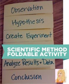 Teach Junkie: 10 Scientific Method Tools to Make Teaching Science Easier - Foldable for the Scientific Method