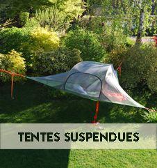 Camping suspendu