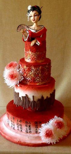 Japanese cake by Monia