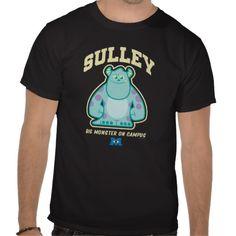 Sulley Big Monster on Campus Tees $25.95 Monster University, Tshirt Colors, Fitness Models, Unisex, Big, Tees, Casual, Sleeves, Mens Tops