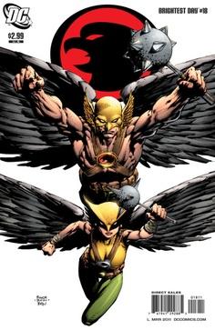 Hawkman and Hawkgirl by David Finch