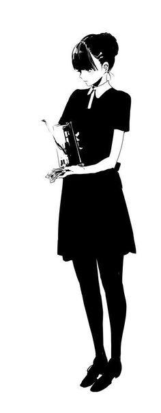 I miss him Anime W, Girls Anime, Anime Art Girl, Manga Girl, Illustration Girl, Character Illustration, Female Character Design, Character Art, Poses