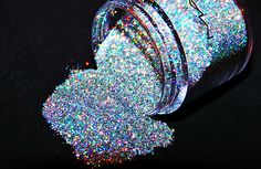Finally tracked down what this is---MAC 3D Silver Glitter--Amazing stuff but may be discontinued :-(